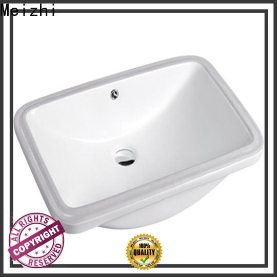 Meizhi table top wash basin designs supplier for home