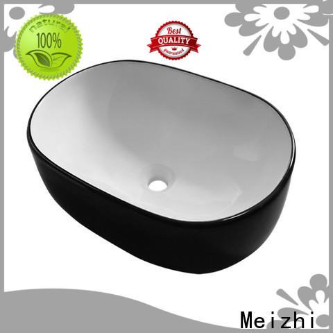 Meizhi black basin manufacturer for washroom