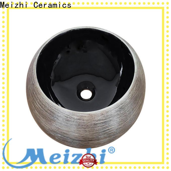 Meizhi black bathroom basin custom for bathroom