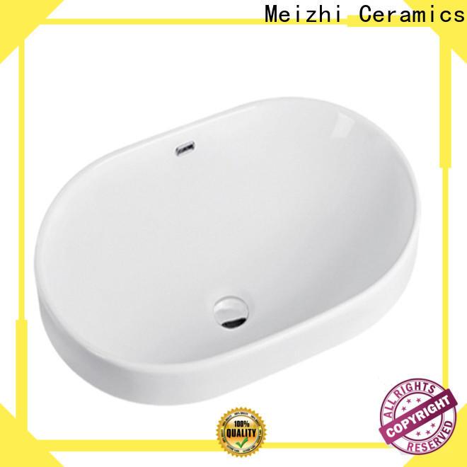 Meizhi bathroom countertop basin directly sale for bathroom