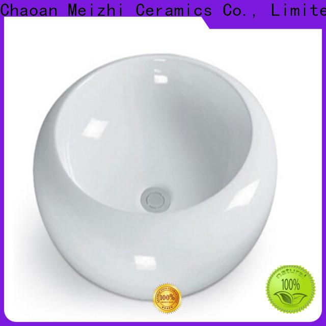Meizhi gold wash basin supplier for washroom