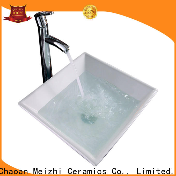 printed latest wash basin supplier for hotel