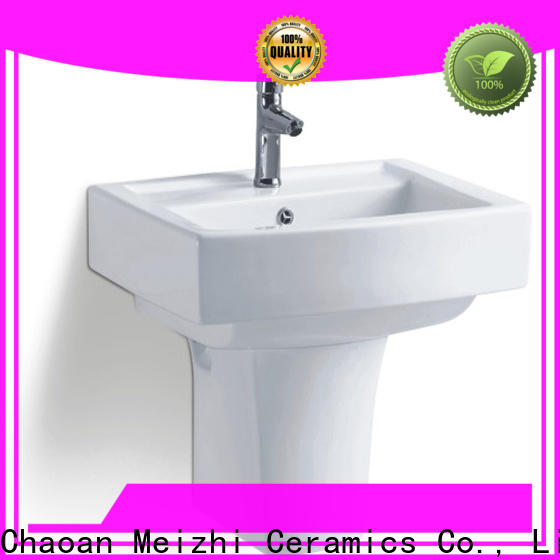 Meizhi stable wall hung sink customized for hotel