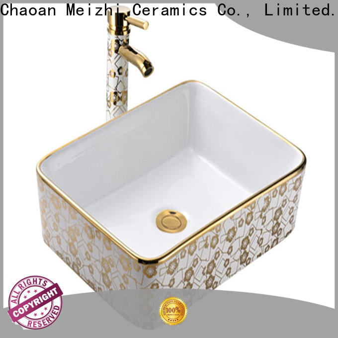 Meizhi stylish wash basin manufacturer for hotel