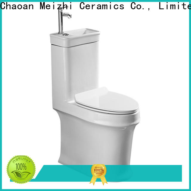 Meizhi one piece comfort height toilet directly sale for hotel
