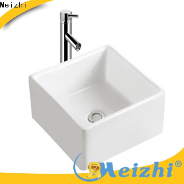 printed ceramic basin wholesale for bathroom
