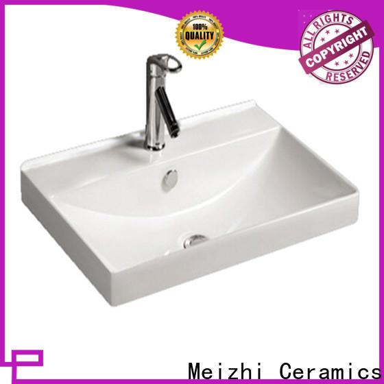 Meizhi excellent bathroom wash basin customized for bathroom