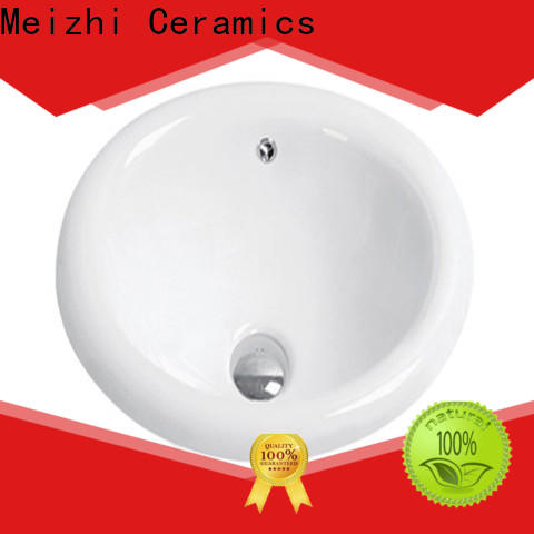 Meizhi contemporary counter top basin unit wholesale for washroom