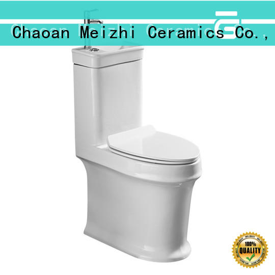 Meizhi one piece elongated toilet wholesale for bathroom