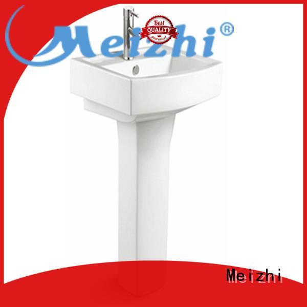popular basin and pedestal customized for bathroom