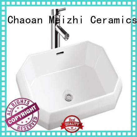 Meizhi wash basin size wholesale for bathroom