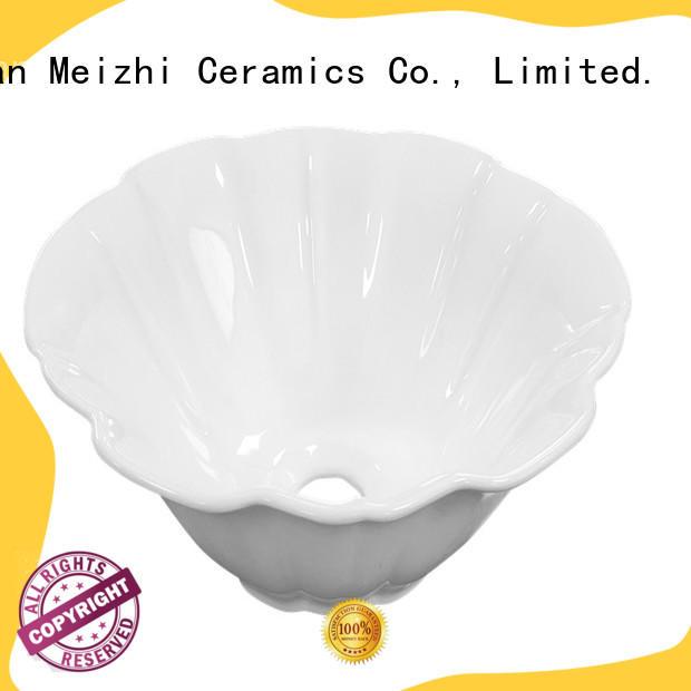 Meizhi ceramic wash basin wholesale for hotel