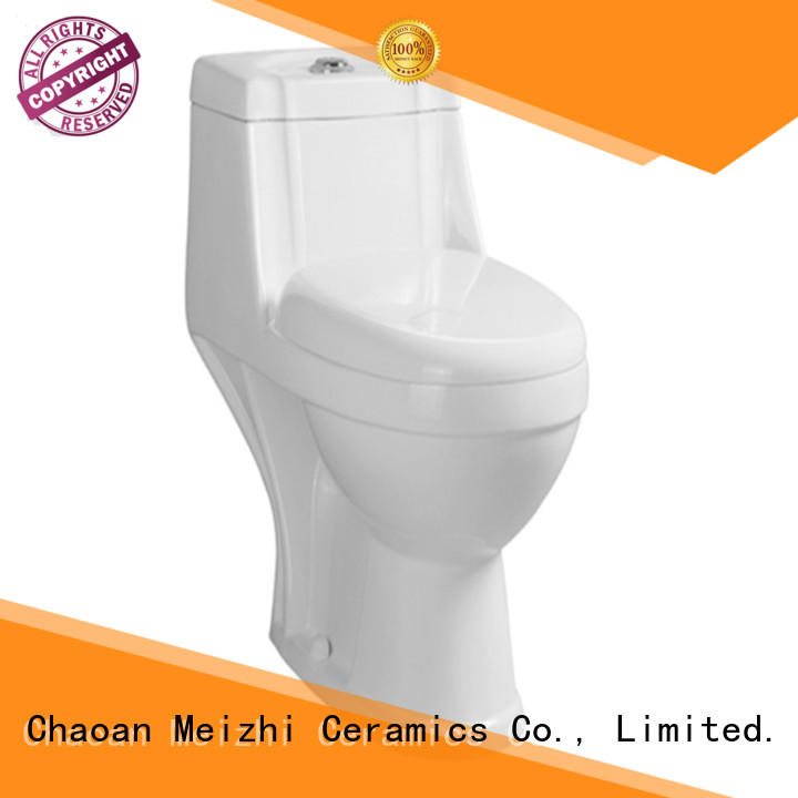 Meizhi one piece elongated toilet supplier for bathroom