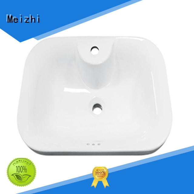 Meizhi high quality counter basin supplier for bathroom