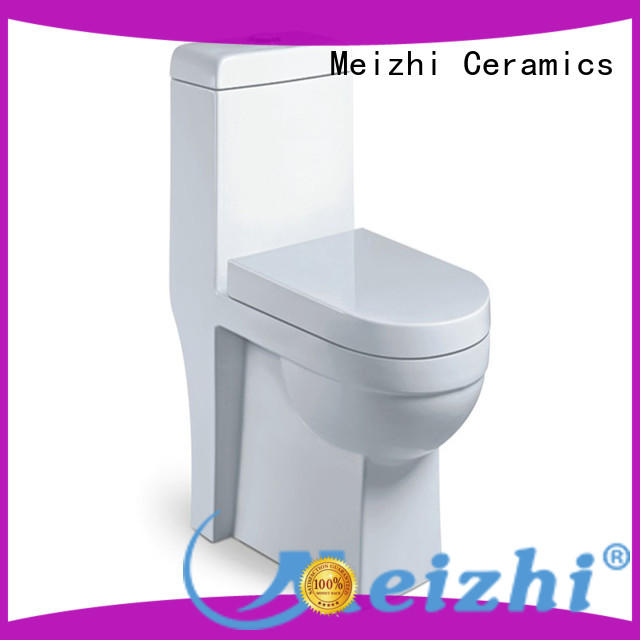 Meizhi siphonic best flushing toilet supplier for bathroom