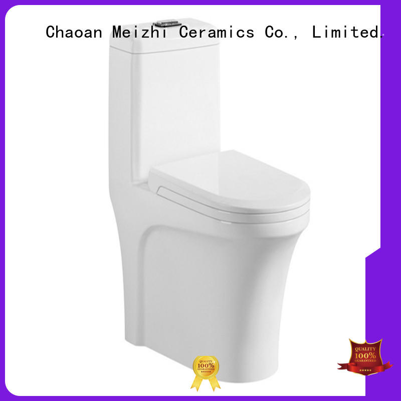 Meizhi contemporary one piece toilets manufacturer for washroom