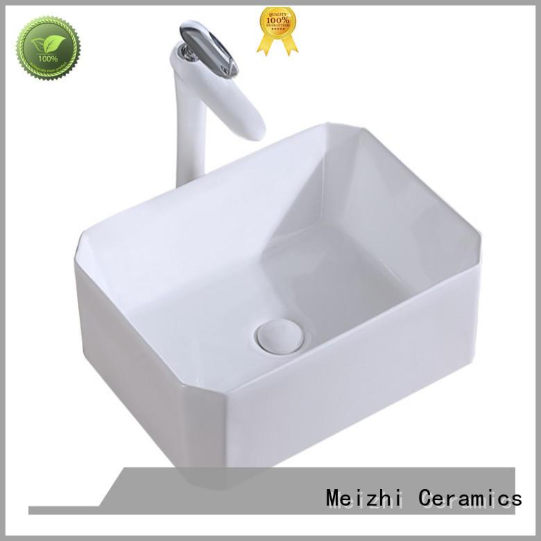 Meizhi hot selling latest wash basin wholesale for hotel