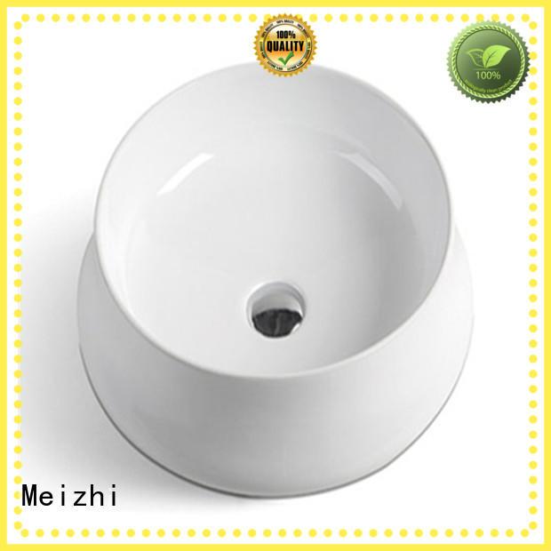 Meizhi white wash basin models manufacturer for washroom