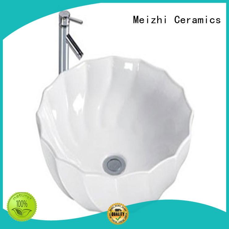 printed ceramic basin supplier for washroom
