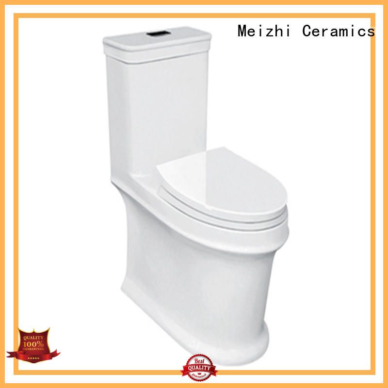 Meizhi best one piece toilet directly sale for bathroom