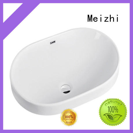 Meizhi table top basin wholesale for home