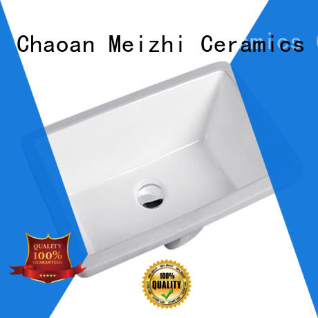 Meizhi contemporary under counter wash basin wholesale for home