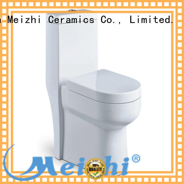 Meizhi colored one piece round front toilet wholesale for hotel