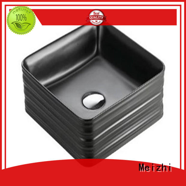 reliable black basin factory for hotel