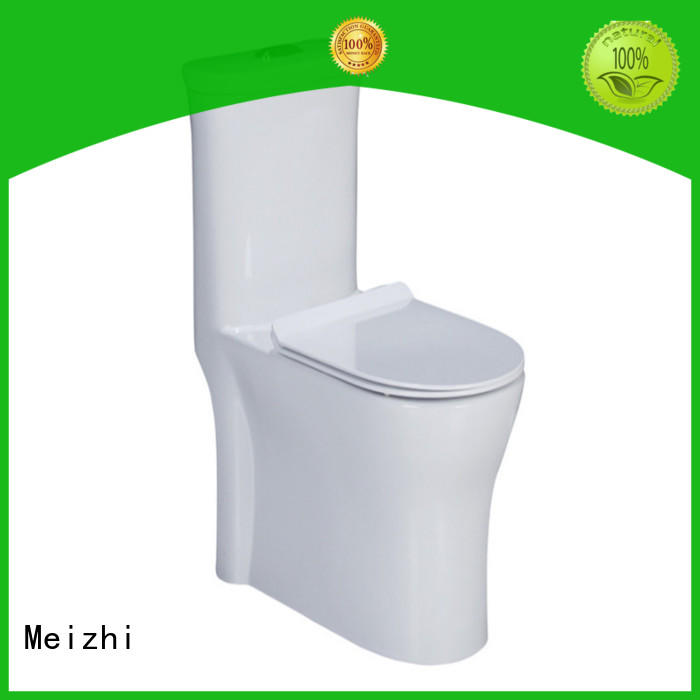 Meizhi self-cleaning water efficient toilets customized for washroom