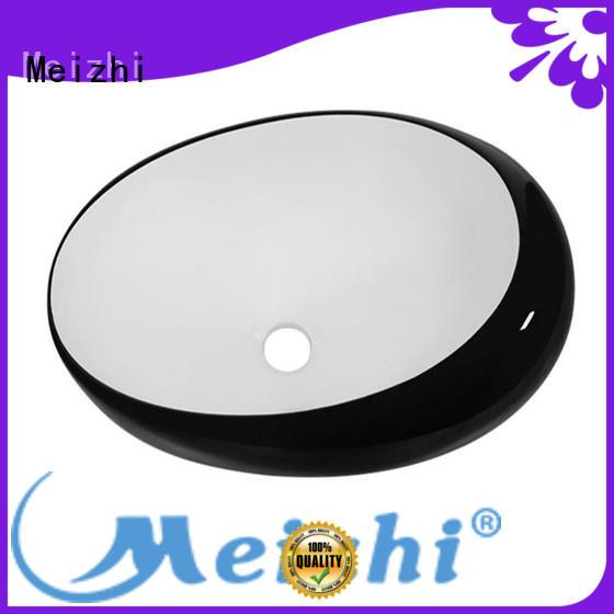 Meizhi basin black custom for washroom
