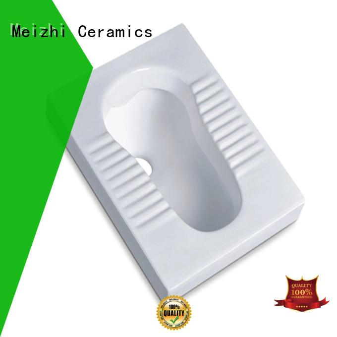 Meizhi squat toilet customized for washroom