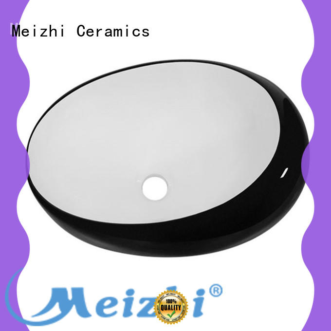 Meizhi high quality basin black factory for hotel