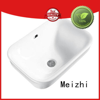 Meizhi counter basin directly sale for bathroom
