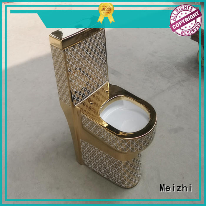 Meizhi one piece elongated toilet wholesale for home