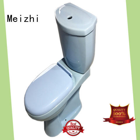p-trap toilets with buttons on top supplier for hotel