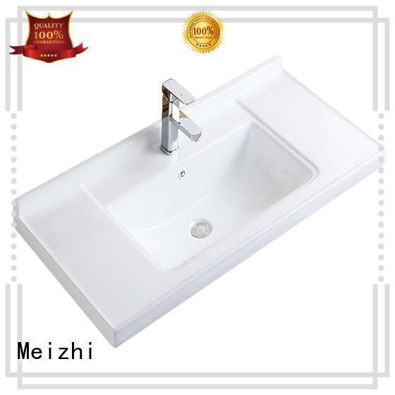 Meizhi bathroom wash basin supplier for hotel