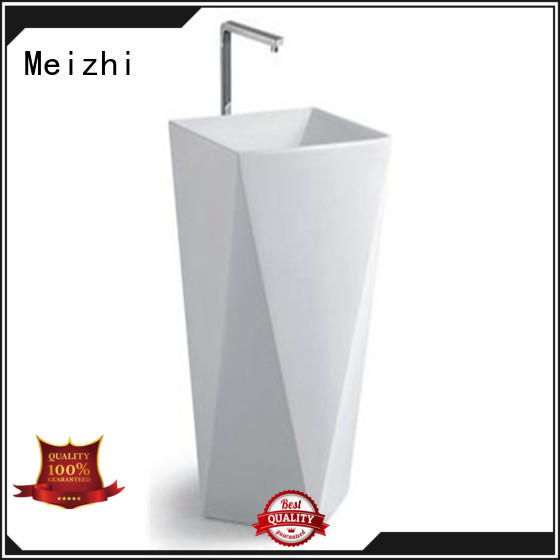 high quality small pedestal sink wholesale for bathroom