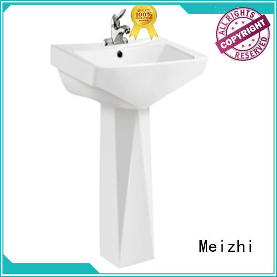 Meizhi high quality washroom basin manufacturer for home