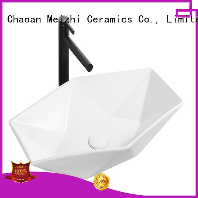 fancy sink basin factory price for washroom