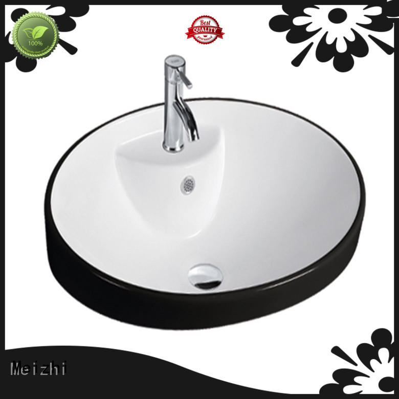 Meizhi printed art basin supplier for hotel