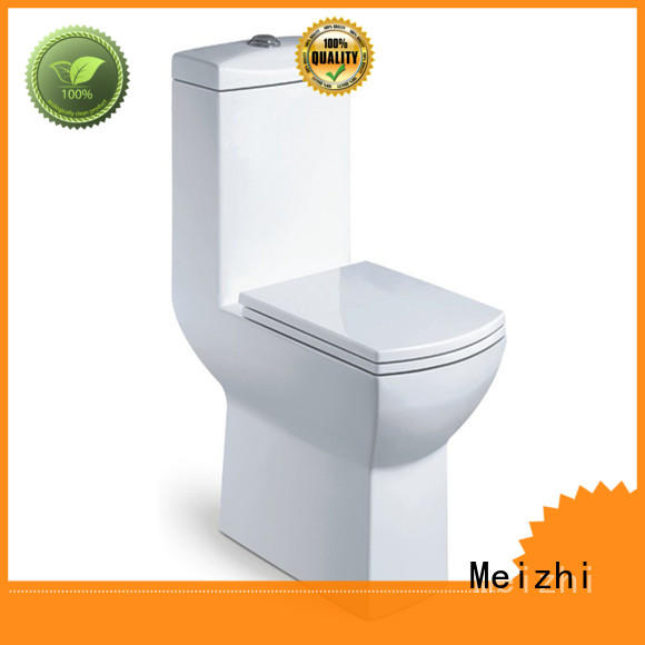 Meizhi colored one piece round toilet with good price for home