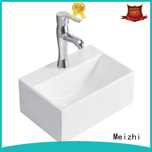 printed art basin factory price for hotel