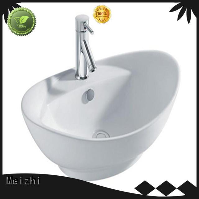 Meizhi modern design wash basin size manufacturer for washroom