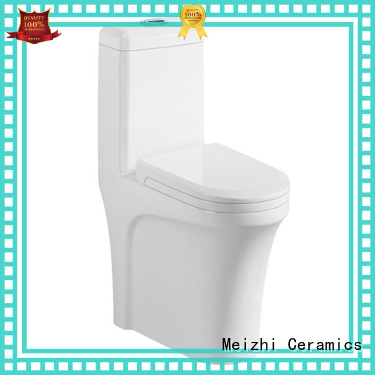 square 1 piece toilet directly sale for hotel