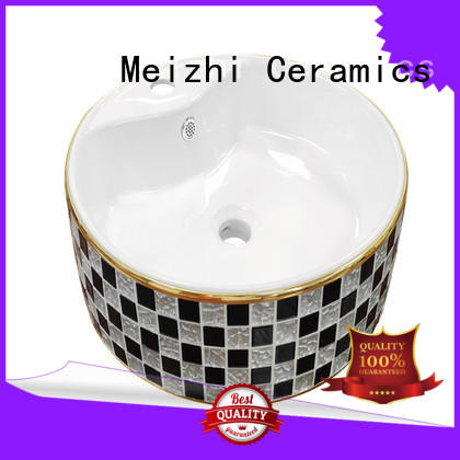 Meizhi hot selling toilet hand basin customized for bathroom