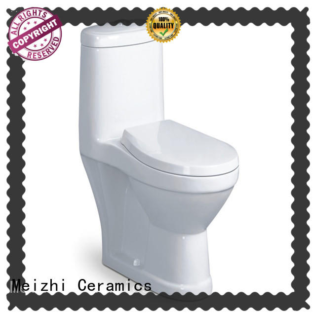 Meizhi single piece toilet customized for home