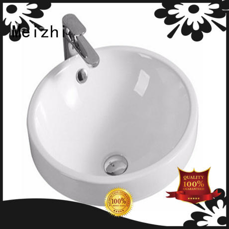 Meizhi contemporary counter top basins manufacturer for hotel