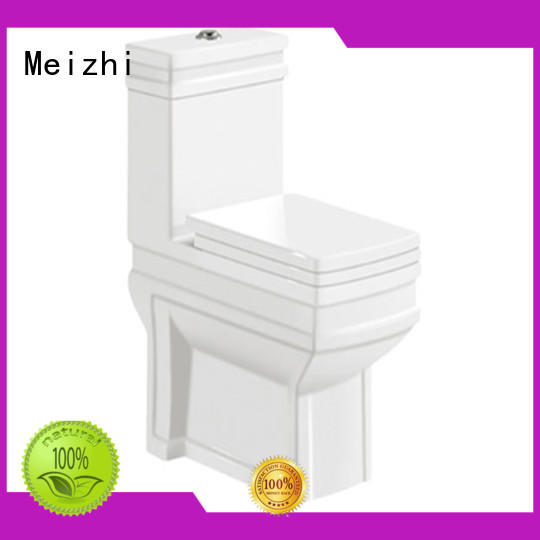 Meizhi single piece toilet supplier for bathroom