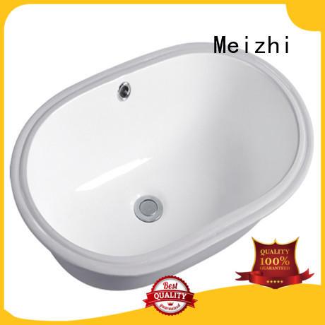 Meizhi popular countertop basin customized for hotel