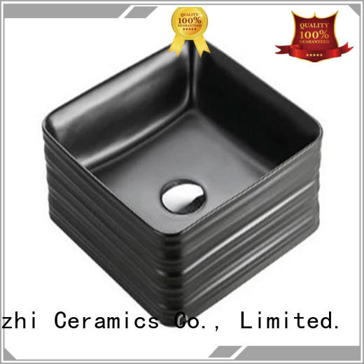 Meizhi high quality basin black wholesale for cabinet
